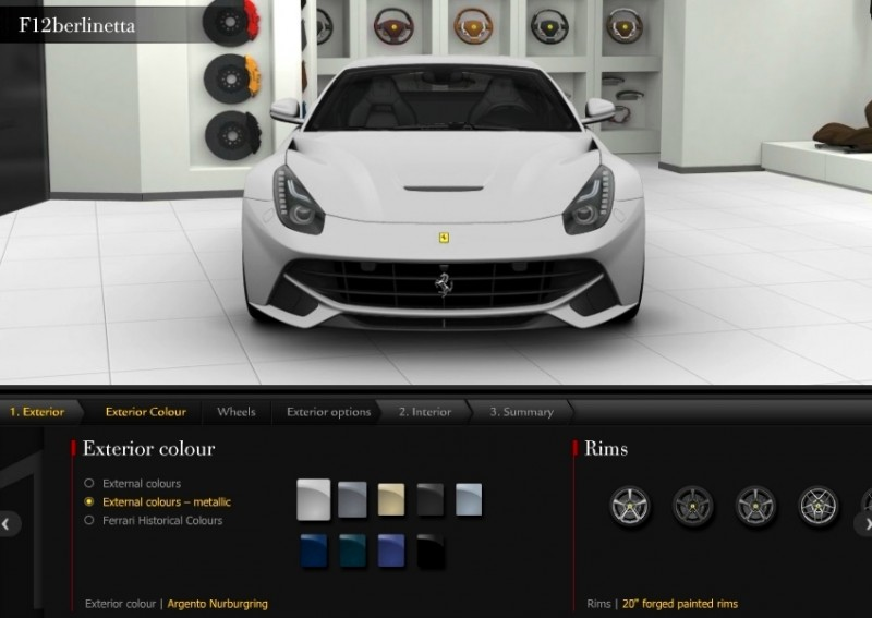 Car-Revs-Daily.com 2014 Ferrari F12 Colors and High-Res Photo Gallery 12