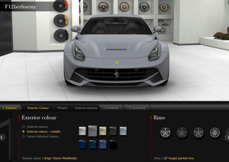 Car-Revs-Daily.com 2014 Ferrari F12 Colors and High-Res Photo Gallery 13