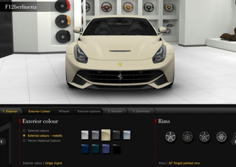 Car-Revs-Daily.com 2014 Ferrari F12 Colors and High-Res Photo Gallery 14