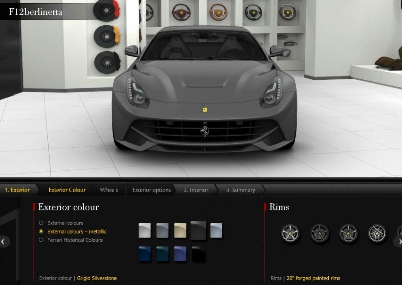 Car-Revs-Daily.com 2014 Ferrari F12 Colors and High-Res Photo Gallery 15