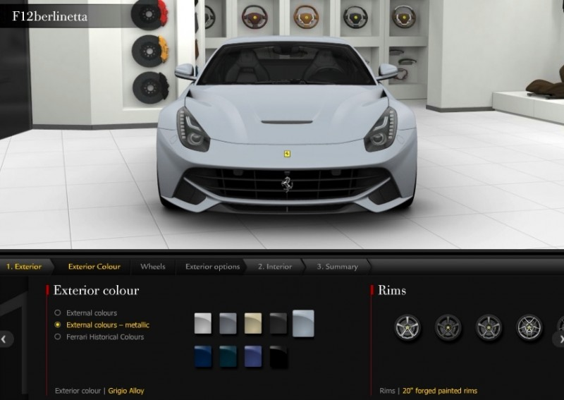 Car-Revs-Daily.com 2014 Ferrari F12 Colors and High-Res Photo Gallery 16