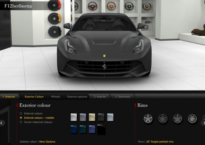 Car-Revs-Daily.com 2014 Ferrari F12 Colors and High-Res Photo Gallery 17