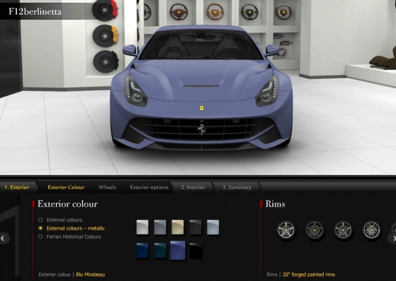 Car-Revs-Daily.com 2014 Ferrari F12 Colors and High-Res Photo Gallery 18