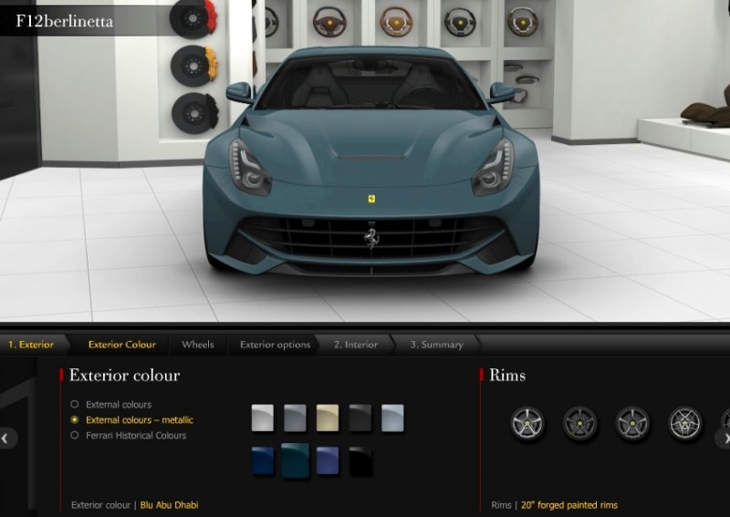 Car-Revs-Daily.com 2014 Ferrari F12 Colors and High-Res Photo Gallery 19
