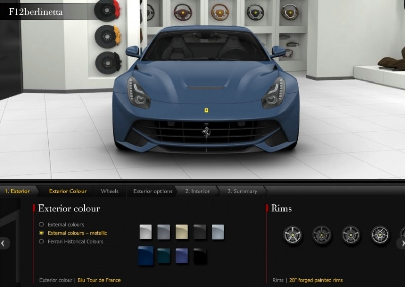 Car-Revs-Daily.com 2014 Ferrari F12 Colors and High-Res Photo Gallery 20