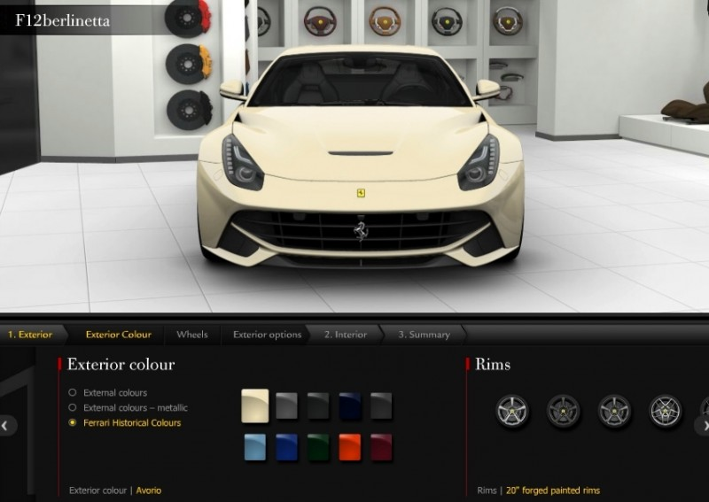 Car-Revs-Daily.com 2014 Ferrari F12 Colors and High-Res Photo Gallery 21