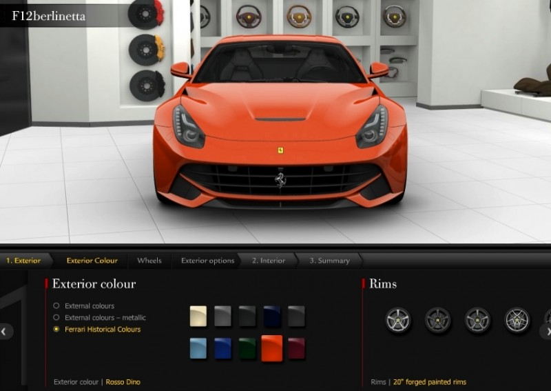 Car-Revs-Daily.com 2014 Ferrari F12 Colors and High-Res Photo Gallery 27