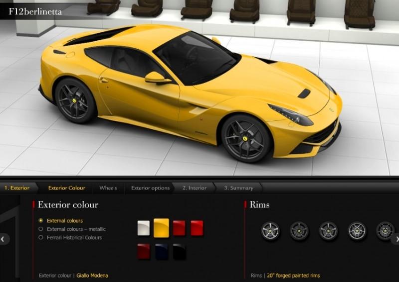 Car-Revs-Daily.com 2014 Ferrari F12 Colors and High-Res Photo Gallery 43