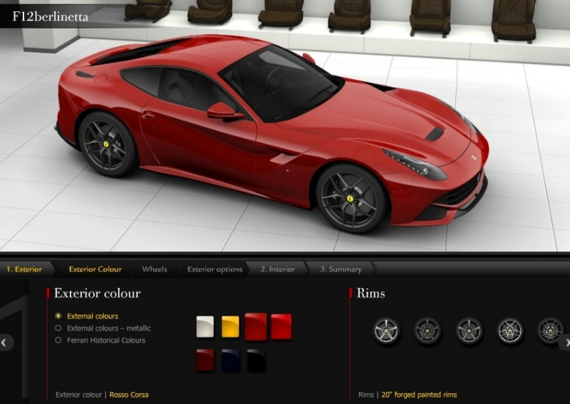 Car-Revs-Daily.com 2014 Ferrari F12 Colors and High-Res Photo Gallery 44