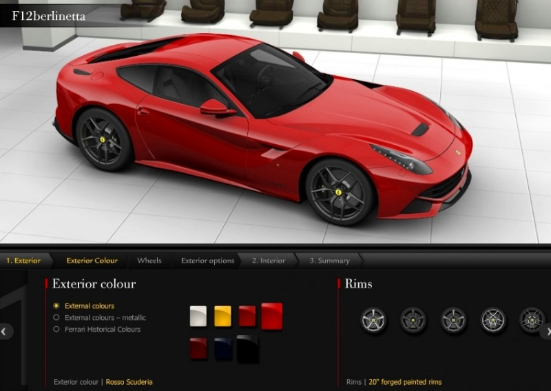Car-Revs-Daily.com 2014 Ferrari F12 Colors and High-Res Photo Gallery 45