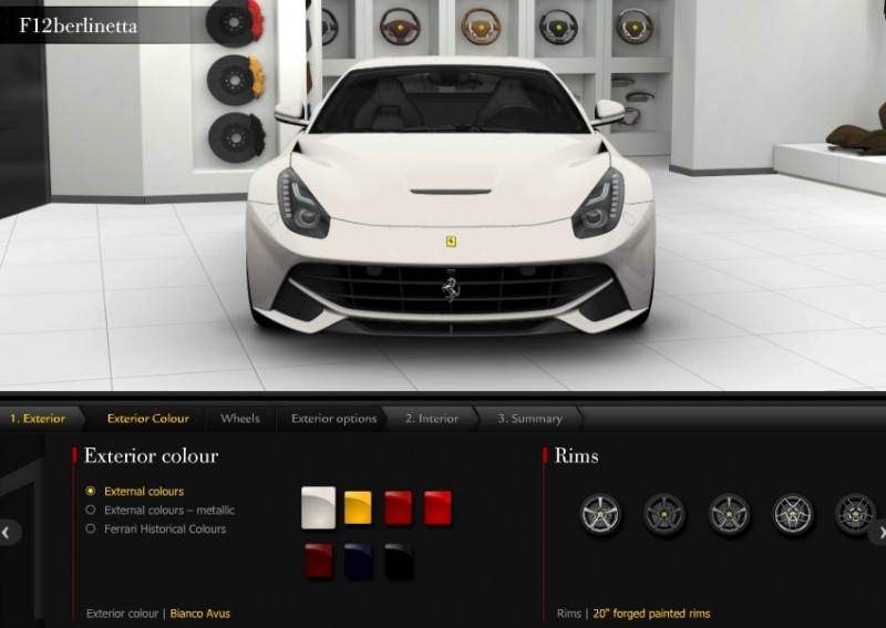 Car-Revs-Daily.com 2014 Ferrari F12 Colors and High-Res Photo Gallery 5