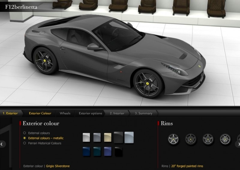 Car-Revs-Daily.com 2014 Ferrari F12 Colors and High-Res Photo Gallery 52