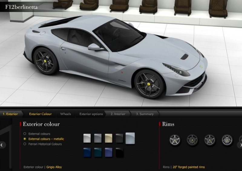 Car-Revs-Daily.com 2014 Ferrari F12 Colors and High-Res Photo Gallery 53