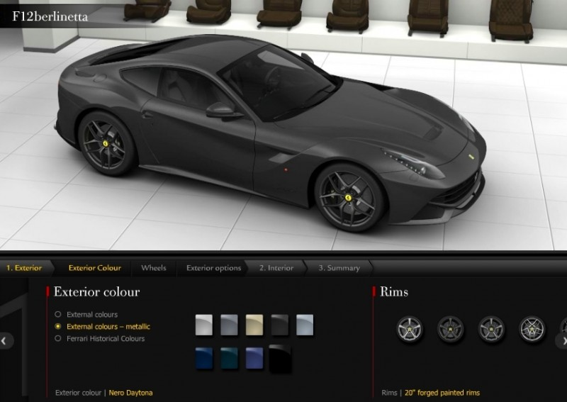 Car-Revs-Daily.com 2014 Ferrari F12 Colors and High-Res Photo Gallery 54