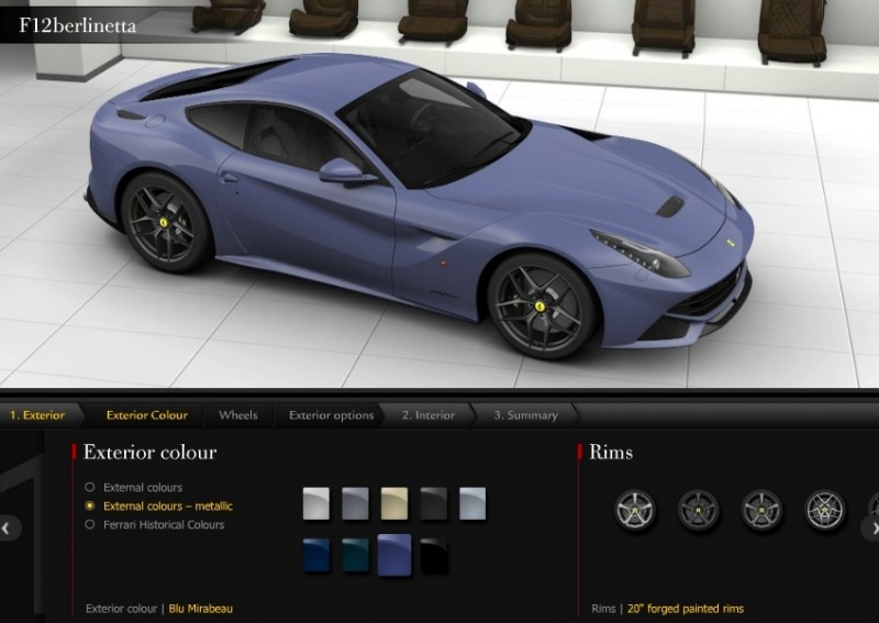 Car-Revs-Daily.com 2014 Ferrari F12 Colors and High-Res Photo Gallery 55