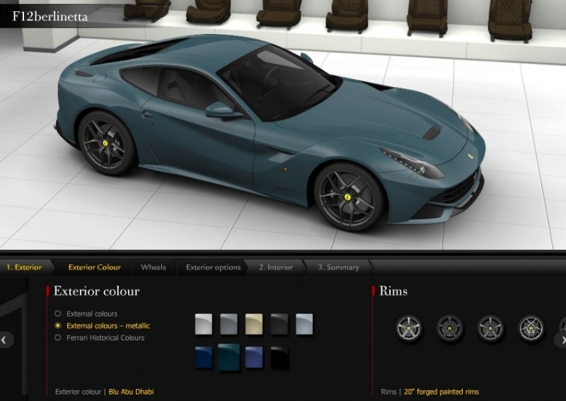 Car-Revs-Daily.com 2014 Ferrari F12 Colors and High-Res Photo Gallery 56