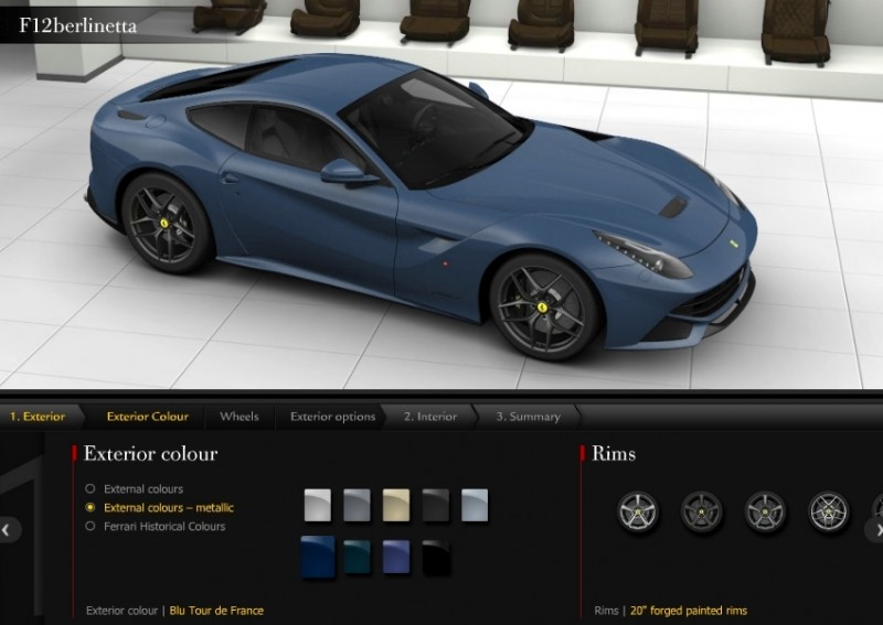 Car-Revs-Daily.com 2014 Ferrari F12 Colors and High-Res Photo Gallery 57
