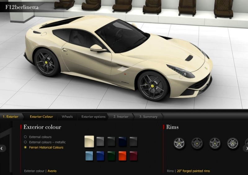Car-Revs-Daily.com 2014 Ferrari F12 Colors and High-Res Photo Gallery 58