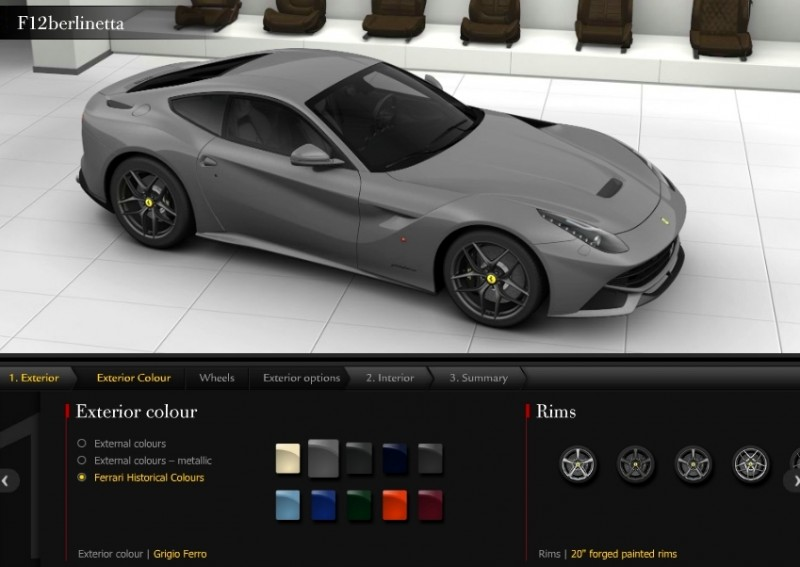 Car-Revs-Daily.com 2014 Ferrari F12 Colors and High-Res Photo Gallery 59