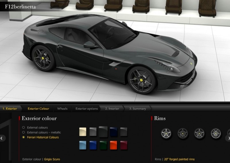 Car-Revs-Daily.com 2014 Ferrari F12 Colors and High-Res Photo Gallery 60