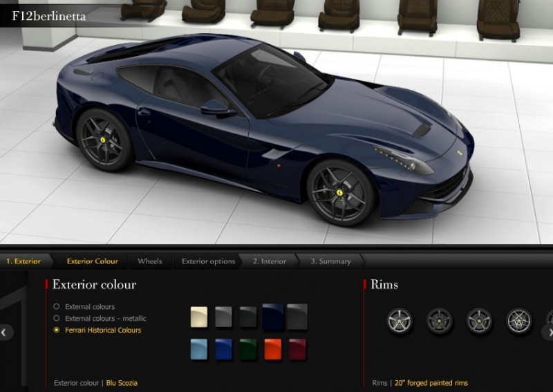 Car-Revs-Daily.com 2014 Ferrari F12 Colors and High-Res Photo Gallery 61