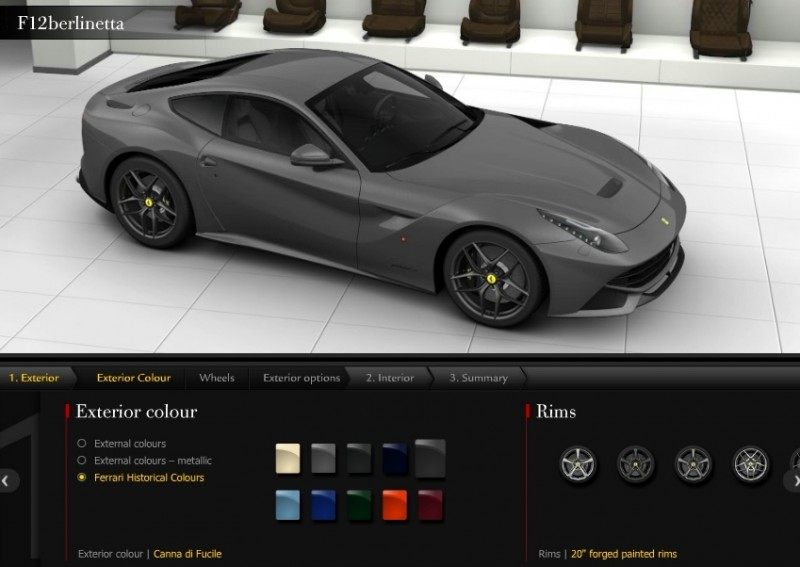 Car-Revs-Daily.com 2014 Ferrari F12 Colors and High-Res Photo Gallery 62
