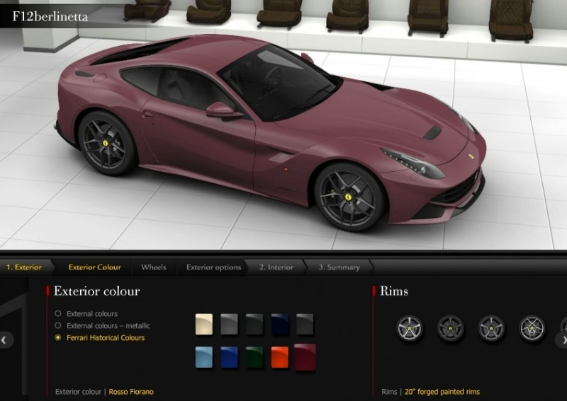 Car-Revs-Daily.com 2014 Ferrari F12 Colors and High-Res Photo Gallery 63
