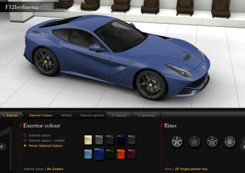 Car-Revs-Daily.com 2014 Ferrari F12 Colors and High-Res Photo Gallery 66
