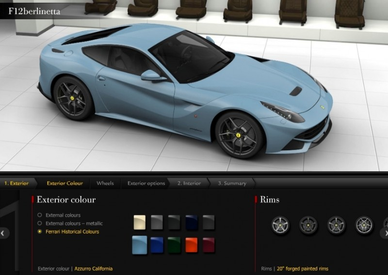 Car-Revs-Daily.com 2014 Ferrari F12 Colors and High-Res Photo Gallery 67