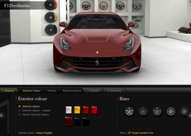 Car-Revs-Daily.com 2014 Ferrari F12 Colors and High-Res Photo Gallery 9