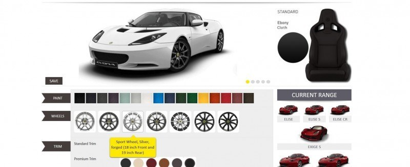 Car-Revs-Daily.com 2014 LOTUS Evora and Evora S - USA Buyers Guide - Specs, Colors and Options 14