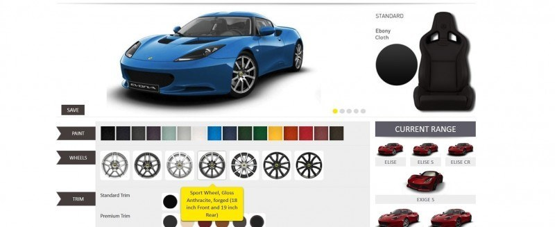 Car-Revs-Daily.com 2014 LOTUS Evora and Evora S - USA Buyers Guide - Specs, Colors and Options 19