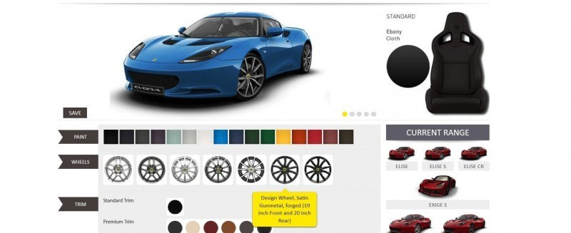 Car-Revs-Daily.com 2014 LOTUS Evora and Evora S - USA Buyers Guide - Specs, Colors and Options 22