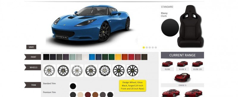 Car-Revs-Daily.com 2014 LOTUS Evora and Evora S - USA Buyers Guide - Specs, Colors and Options 23