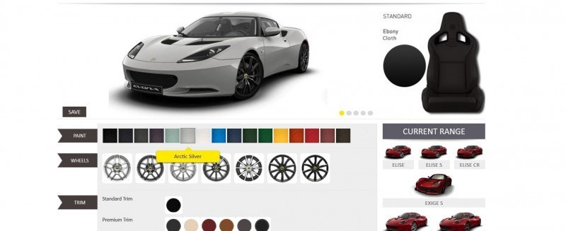 Car-Revs-Daily.com 2014 LOTUS Evora and Evora S - USA Buyers Guide - Specs, Colors and Options 24