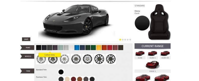 Car-Revs-Daily.com 2014 LOTUS Evora and Evora S - USA Buyers Guide - Specs, Colors and Options 27