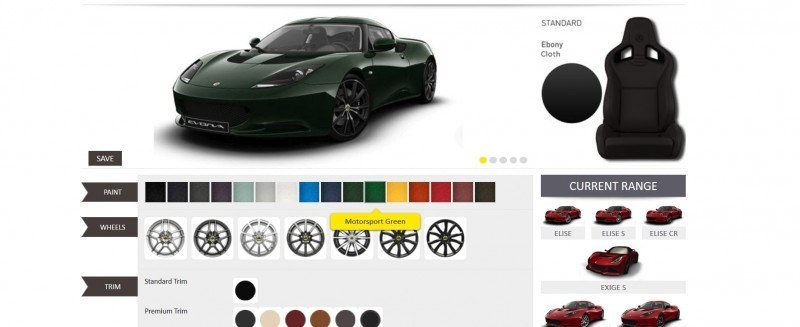 Car-Revs-Daily.com 2014 LOTUS Evora and Evora S - USA Buyers Guide - Specs, Colors and Options 30