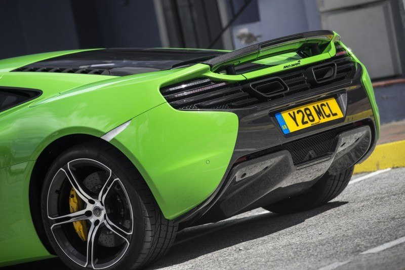 Car-Revs-Daily.com 2014 McLaren 650S Coupe and Spider Launch Ascari Circuit 100