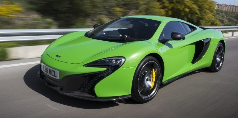 Car-Revs-Daily.com 2014 McLaren 650S Coupe and Spider Launch Ascari Circuit 106