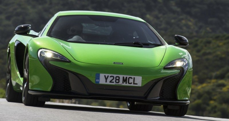 Car-Revs-Daily.com 2014 McLaren 650S Coupe and Spider Launch Ascari Circuit 107