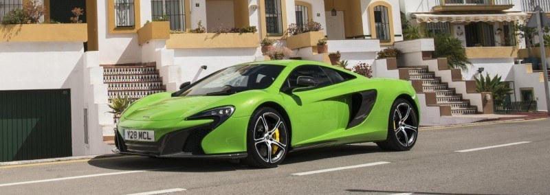 Car-Revs-Daily.com 2014 McLaren 650S Coupe and Spider Launch Ascari Circuit 108