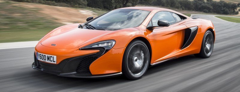 Car-Revs-Daily.com 2014 McLaren 650S Coupe and Spider Launch Ascari Circuit 109