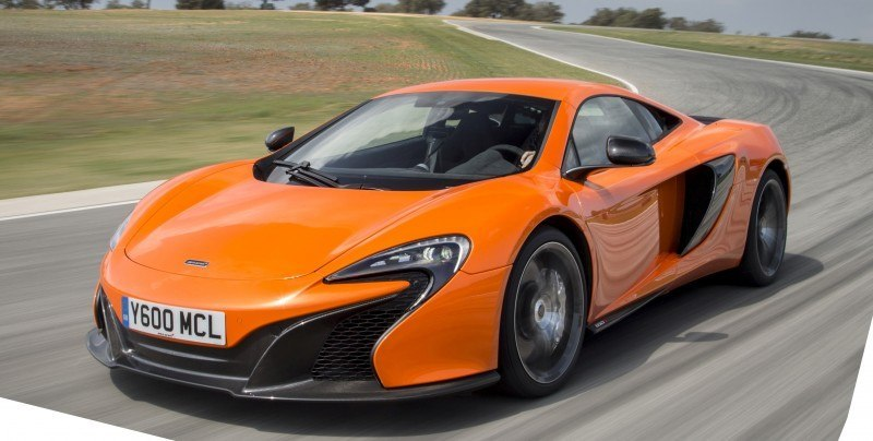 Car-Revs-Daily.com 2014 McLaren 650S Coupe and Spider Launch Ascari Circuit 110