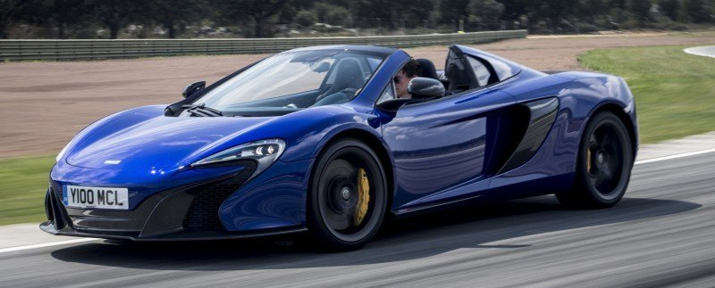 Car-Revs-Daily.com 2014 McLaren 650S Coupe and Spider Launch Ascari Circuit 116