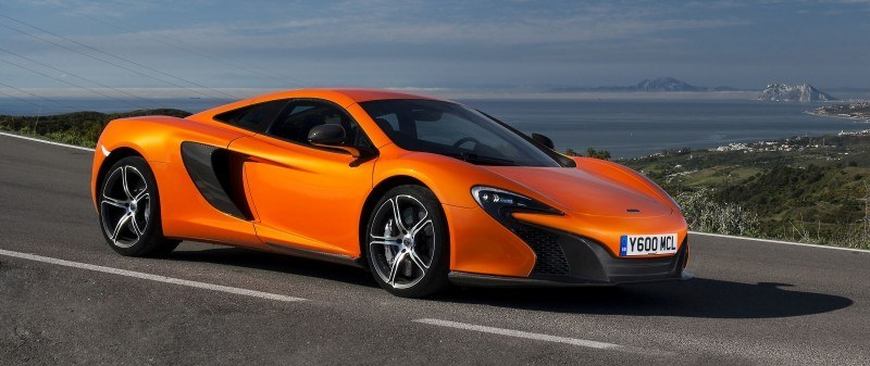 Car-Revs-Daily.com 2014 McLaren 650S Coupe and Spider Launch Ascari Circuit 117