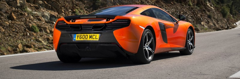 Car-Revs-Daily.com 2014 McLaren 650S Coupe and Spider Launch Ascari Circuit 118