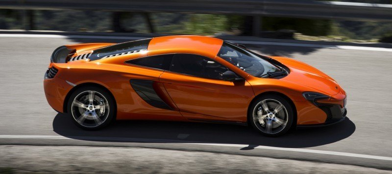 Car-Revs-Daily.com 2014 McLaren 650S Coupe and Spider Launch Ascari Circuit 120