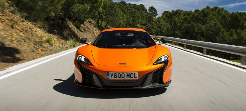 Car-Revs-Daily.com 2014 McLaren 650S Coupe and Spider Launch Ascari Circuit 121