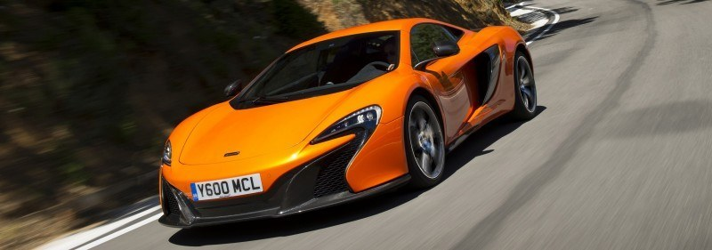 Car-Revs-Daily.com 2014 McLaren 650S Coupe and Spider Launch Ascari Circuit 122