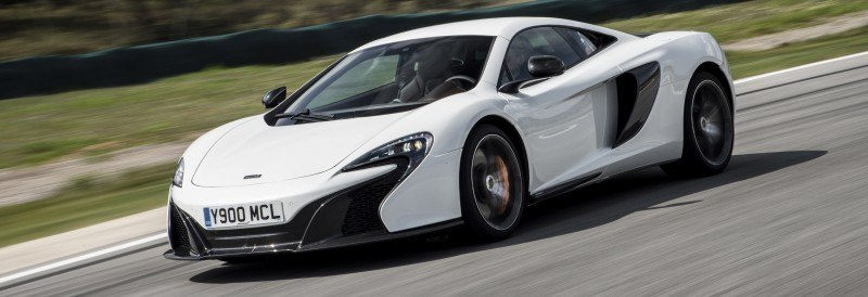 Car-Revs-Daily.com 2014 McLaren 650S Coupe and Spider Launch Ascari Circuit 123